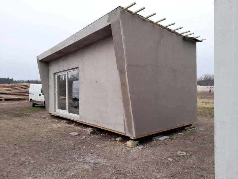Egyedi mobilház - műterem - tothmobilhaz.hu