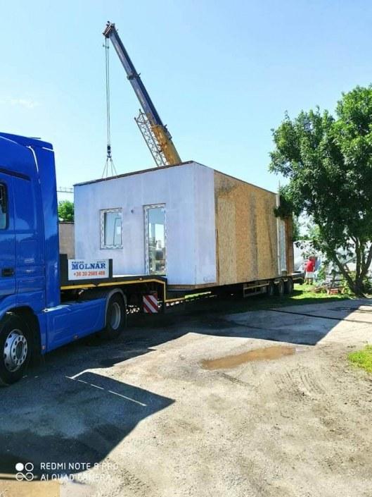 Mobilház szállítás - toth-mobilhaz.hu